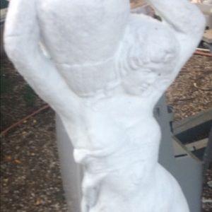Rebecca at the well concrete statue